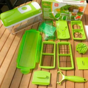Fatiador de legumes, frutas e verduras - Nicer Dicer Plus GT228 - Lorben 21,50