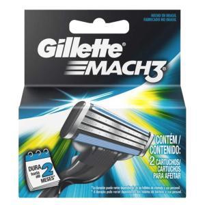 Carga Gillette Mach3 com 2un - FRETE GRATIS - R$ 9
