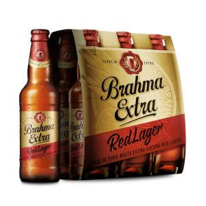 Cerveja Brahma Extra Red Lager 355ml Caixa com 06 unidades por R$ 13,28