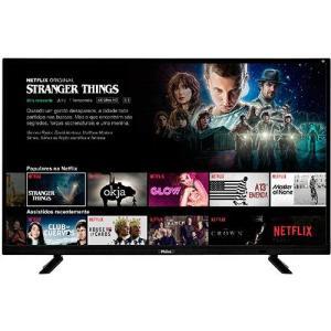 """Smart TV LED 40"""" Philco PTV40E21DSWN FULL HD - R$1077"""