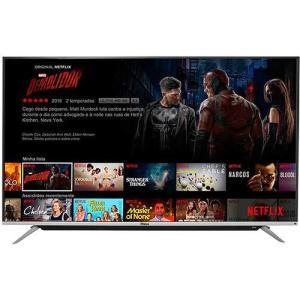 "Smart TV LED Android 65"" Philco PH65G60DSGWAG Ultra HD 4K 60hz - R$3901,49"