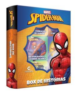 Box De Histórias Homem Aranha Marvel - Culturama R$13