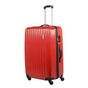 Mala Pequena em ABS Vermelha - Travel Max