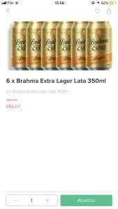 Rappi Recife - Brahma Extra por 1 real