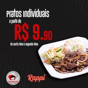 Rappi Recife - Almoço a R$9,90