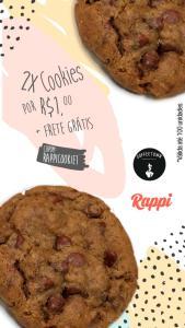 Rappi Recife - 2 cookies a R$1