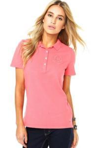 Camisa Polo Tommy Hilfiger Delicia Coral