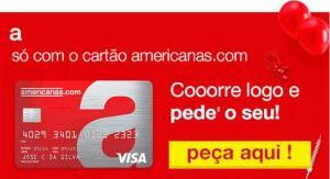 Cartão Americanas com ANUIDADE GRÁTIS para SEMPRE!