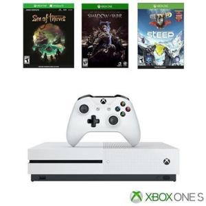 Console Xbox One S 1TB + 1 Controle + 3 Jogos - R$1699
