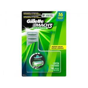 Carga Gillette Mach3 Sensitive - 16 Cargas - R$75,91