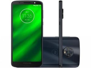 Smartphone Motorola Moto G6 Plus 64GB Indigo - Dual Chip 4G Câm. Duo 12MP + 5MP + Selfie 8MP