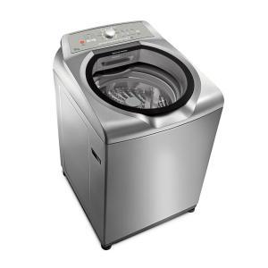 Máquina de Lavar Brastemp 15kg cor Inox com Ciclo Edredom Especial e Enxágue Anti-Alérgico BWN15AKANA - 110V