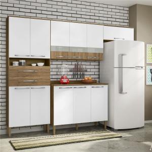 Cozinha Safira Plus com 11 Portas e 2 Gavetas - R$349