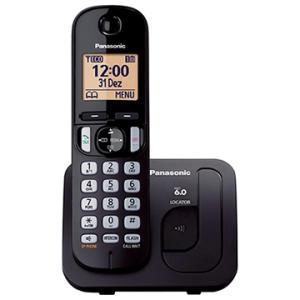 Telefone sem Fio Panasonic KX-TGC210LBB, Viva-Voz Bloqueador - R$142