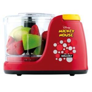 Mini Processador Disney Mickey Mouse Mallory Capacidade 350Ml - R$45