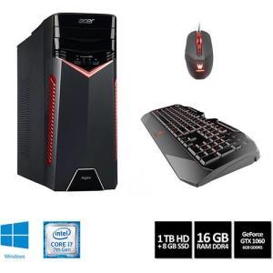 PC Gamer Acer Aspire GX-783-BR13 Intel Core i7 16GB (GeForce GTX 1060 com 6GB) 1TB Windows 10 - Preto no Submarino.com