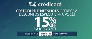 15% OFF na Netshoes