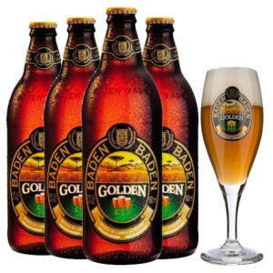 Kit Baden Baden Golden Ale + taça de presente - R$59,60