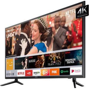 "Smart TV LED 58"" UHD 4K Samsung 58MU6120 HDR Premium, Tizen, Steam Link - R$ 2945"