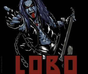 Camiseta O LOBO R$ 25,00