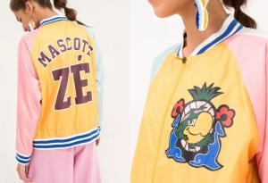 Bomber Mascote Zé Carioca Multicolorido P - R$139,30
