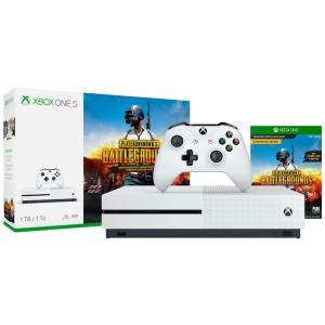 Console Microsoft Xbox One S 1TB Branco + Game PUBG - R$1400