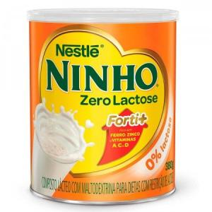 3 Potes Composto Lácteo Ninho Zero Lactose Forti+  R$29,97