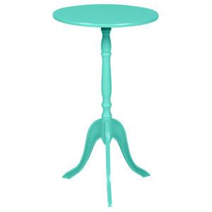 Mesa de canto TokStock Azul Turquesa - R$26,40