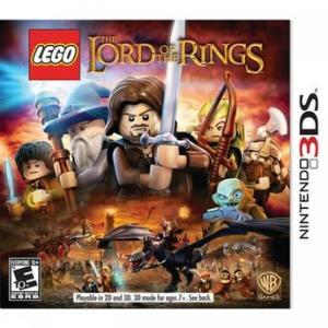 Lego Senhor dos Anéis Nintendo 3DS - R$29,90
