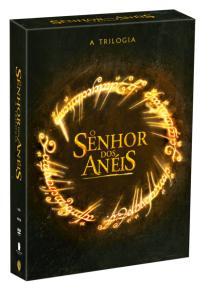 DVD Coleção Trilogia o Senhor Dos Anéis - 3 Discos - R$13