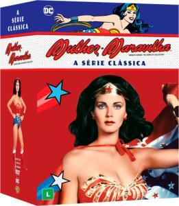 DVD Mulher-Maravilha - A Série Clássica - 21 Discos - R$90