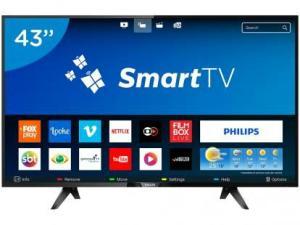 "Smart TV LED 43"" Philips Full HD Série 5102 - 43PFG5102 Conversor Digital Wi-Fi 3 HDMI 2 USB"