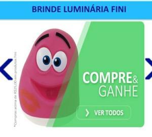 Fini Ursinhos Cítricos Com 110g - R$ 4,55 - GANHE DE BRINDE  LUMINÁRIA FINI