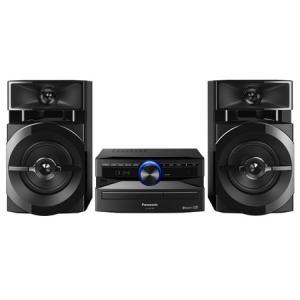 Mini System SC-AKX100LBK Usb, Bluetooth, Max Juke, 250w Rms Bivolt - Panasonic - R$ 399