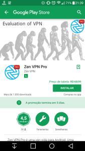 Zen VPN PRO - VPN Grátis Android