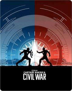 Steelbook Blu-ray Capitão América: Guerra Civil - R$54,90