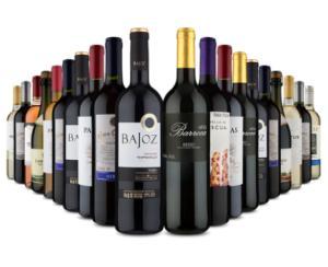 [Primeira compra] Mega Kit 20 vinhos por 17,45 a garrafa (20 garrafas) na Vinho Fácil - R$348