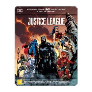 Steelbook Blu-ray + Blu-ray 3D Liga da Justiça - R$49,90