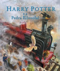 Harry Potter e a Pedra Filosofal: Ed. Ilustrada - R$46,30