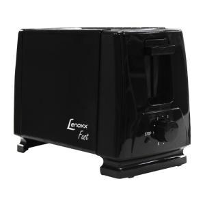 Torradeira Fast Lenoxx, Desligamento Automático, Preta - PTR201 110V - R$40