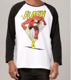 Até 50% OFF em vestuário DC Comics