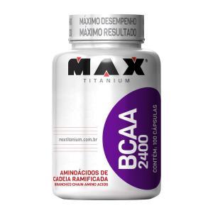 BCAA 2400 450 cápsulas Max Titanium - R$76