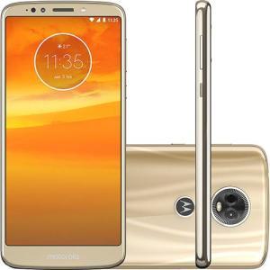 "Smartphone Motorola Moto E5 Plus Dual Chip Android Oreo - 8.0 Tela 6"" Quad-Core 1.4 GHz 16GB 4G Câmera 12MP - R$688"