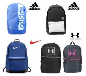 Diversas Mochilas (adidas, Nike e Under Armour) a partir de R$ 65