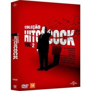 DVD - Hitchcock - Coleçao V.2 - R$40
