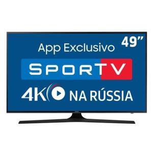 Tv Samsung mu6100 49 polegadas - R$2204