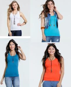 Diversas camisetas/blusa/regatas a partir de R$ 8