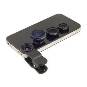 Conjunto de lentes para Smartphones e Tablets - R$5