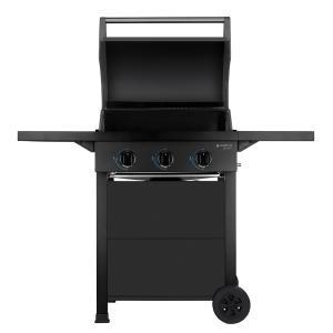 Churrasqueira Cadence Gourmet Barbecue com 3 Queimadores - Gás - R$928