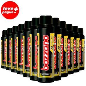 12 Desodorantes Aerosol Antitranspirante Bozzano Extreme 150ml - R$68